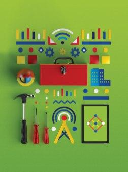 Анимационный ролик и серия плакатов «Deloitte Tech Trends 2016»