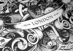 SHEEN — супер-детализированная леттеринг-иллюстрация Грега Коултона из Лондона