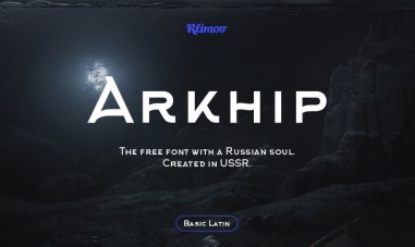 Бесплатный шрифт «Архип»