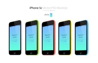 13 бесплатных векторных мокапов техники Apple, Samsung и Nexus (PSD+AI)