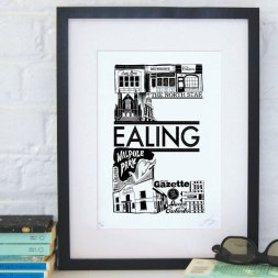 Постеры про районы Лондона