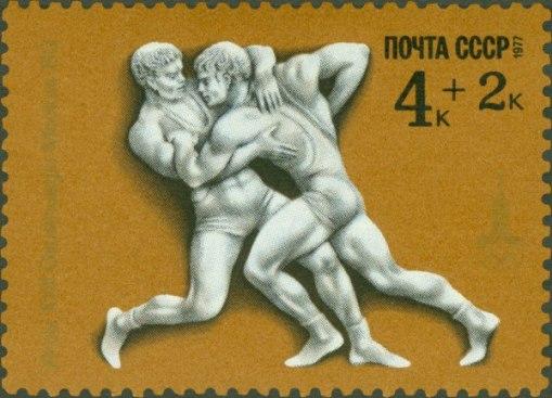 Эркен Кагаров выложил в ЖЖ олимпийские почтовые марки Н. Литвинова, и они великолепны