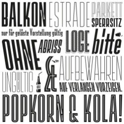 Любимые шрифты журнала Типографика