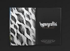 Фирменный стиль выставки современного стрит-арта «Гиперграффити»