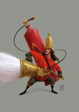 Персонажи тюменского иллюстратора Евгения Ткача