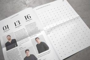 Фирменный стиль мужских парикмахерских Мансли (Monthly)