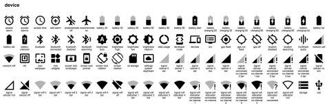 Иконки материального дизайна опубликованы под свободной лицензией (CC ShareAlike) в формате SVG