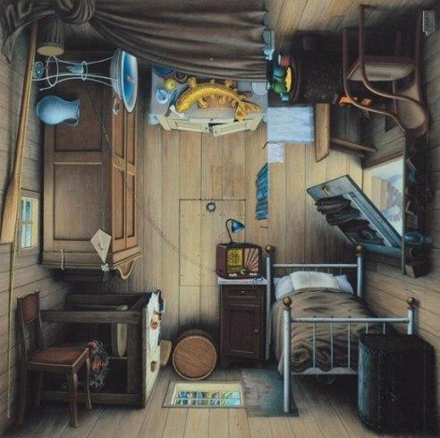 Невероятные картины польского художника Яцека Йерка (Jacek Yerka) via InspireMe.ru