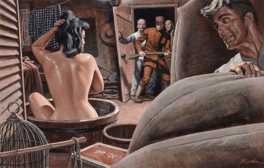 Иллюстрации Морта Кунстлера (Mort Künstler)