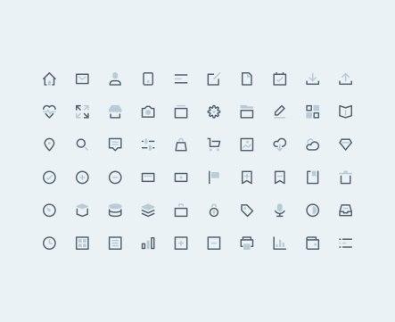 5 свежих бесплатных наборов иконок