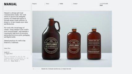 7 сайтов дизайнеров и студий с минималистским дизайном
