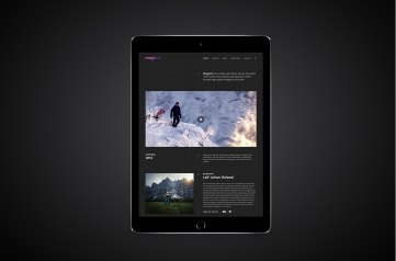 Фирменный стиль и сайт компании Magic Air, занимающейся аэрофотосъемкой
