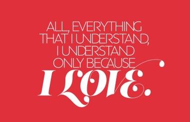 Цитаты Льва Толстого в великолепных шрифтовых композициях