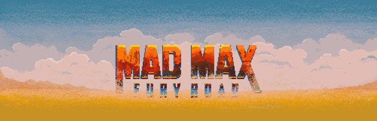 Пиксельные анимации Миши Петрика и Евгения Юдина на тему свежего кино про Безумного Макса