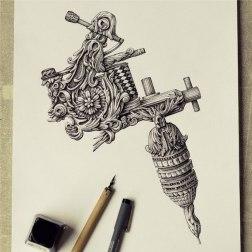 Супердетализация в иллюстрациях Алексея Конахина