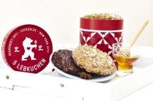 Leckerlee — традиционные праздничные немецкие имбирные пряники (Lebkuchen).