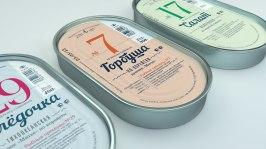 Упаковка продукции Бийского рыбозавода