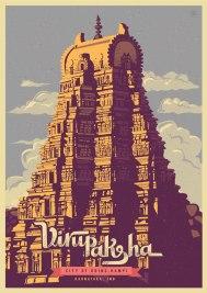 Тематические открытки индийского дизайнера Ранганата Кришнамани