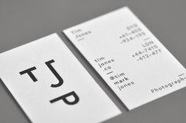 Лого и стиль фотографа Тима Джонса