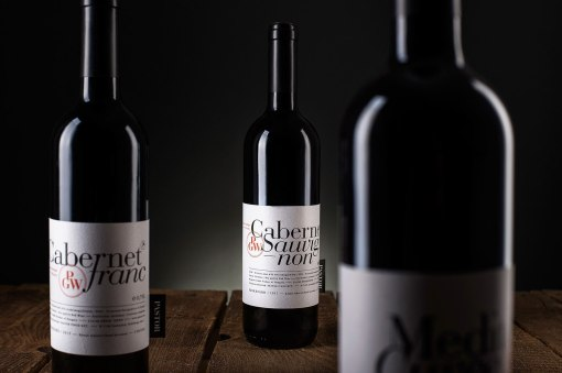 Этикетки вина Pastor Winery's Red Wines 2016