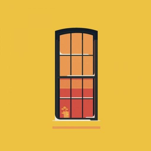 Окна Нью Йорка.