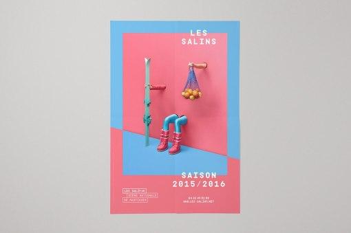 Плакаты и программы Театра Сален в Мортиге (Франция)