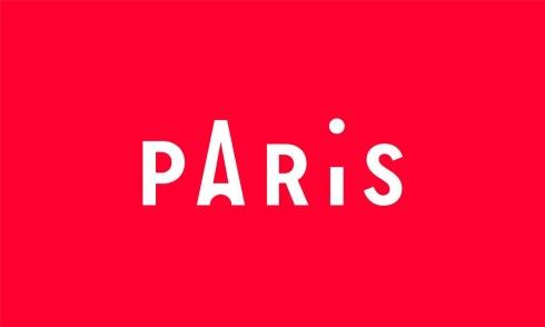 Логотип и стиль официального парижского туристического бюро