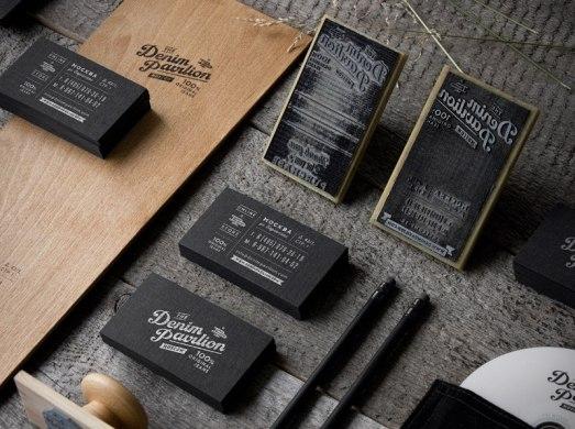 Фирменный стиль джинсового интернет-магазина Denim Pavilion