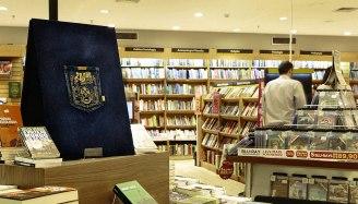 Рекламная акция карманных книг Saraiva