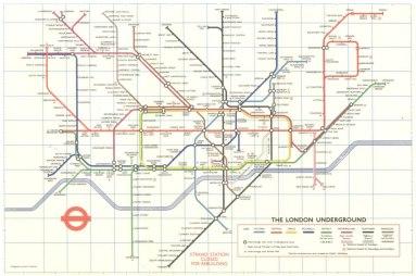 Эволюция схем лондонского метро