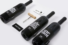 Логотип, упаковка и леттеринг для маленького венгерского винного производства под названием Pastor.