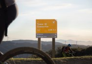Дизайн навигации для вело-парка «Макара Пик» в Новой Зеландии