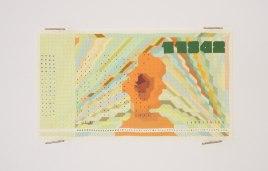 Пример генеративного дизайна: банкноты, сгенерированные Блокчейном