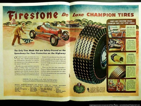 Реклама в журналах LIFE и TIME 1945-го года