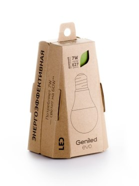 Упаковка светодиодных ламп EVO
