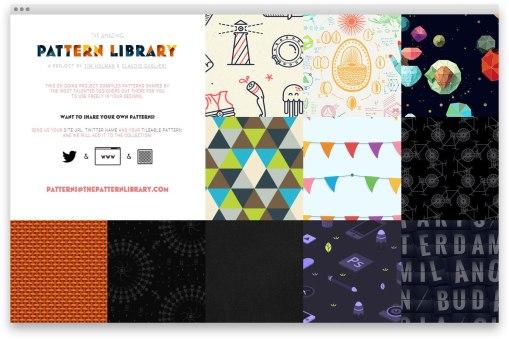 Thepatternlibrary.com —бесплатные бесшовные паттерны