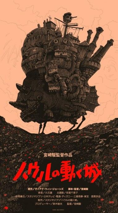 Альтернативные кино-плакаты Olly Moss из Великобритании