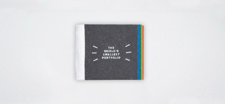 Самое маленькое портфолио дизайнера в мире