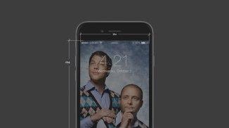 Бесплатные исходники интерфейсов айОС 8 для Айфона 6 в формате ПСД и Скетч