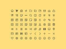 4 свежих бесплатных набора пиктограмм