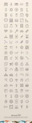 735 свежих бесплатных иконок