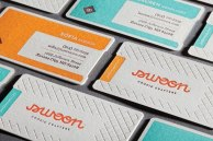 10 примеров применения леттерпресса (высокой печати) в визитках и приглашениях.