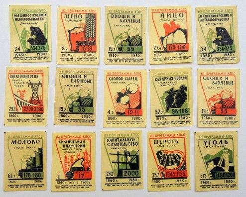Спичечные этикетки времен СССР