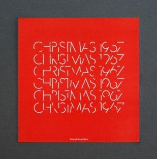 Рождественские открытки великих дизайнеров