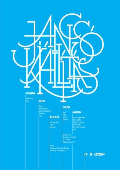 Работы венгерского шрифтовика и каллиграфа Арона Янчо