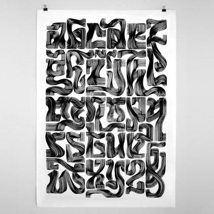 Работы голландского коллектива High on Type