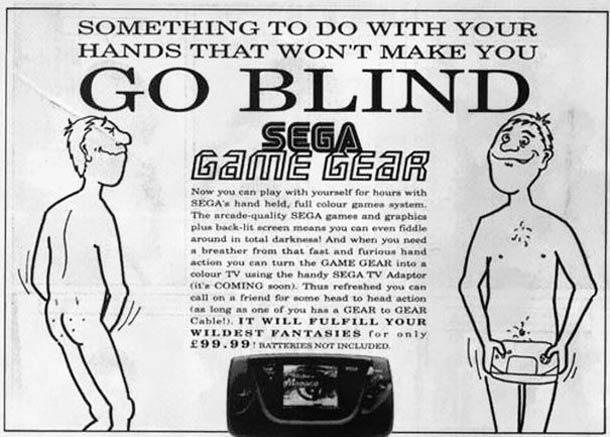 Слегка безумная реклама видеоигр 80-90-х годов