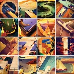 У Чарли Дэвиса из Лондона очень крутая серия «36 Days of Type»