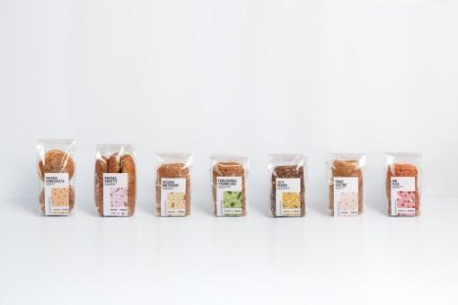 Упаковка серии цельнозернового хлеба Patita Polola