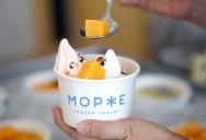 Айдентика кафе-мороженого «Морже»